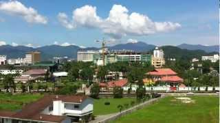 preview picture of video 'Ipoh City Skyline from Coliseum Square 2013-Jan'