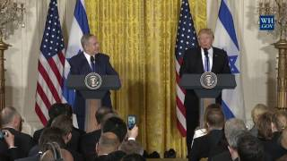 President Trump Joint Press Conference with Israeli Prime Minister Benjamin Netanyahu