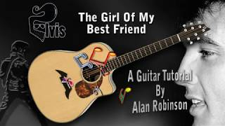 The Girl Of My Best Friend - Elvis - Acoustic Guitar Tutorial