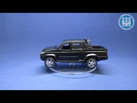 Коллекционная модель Российского внедорожника УАЗ (Видео обзор)