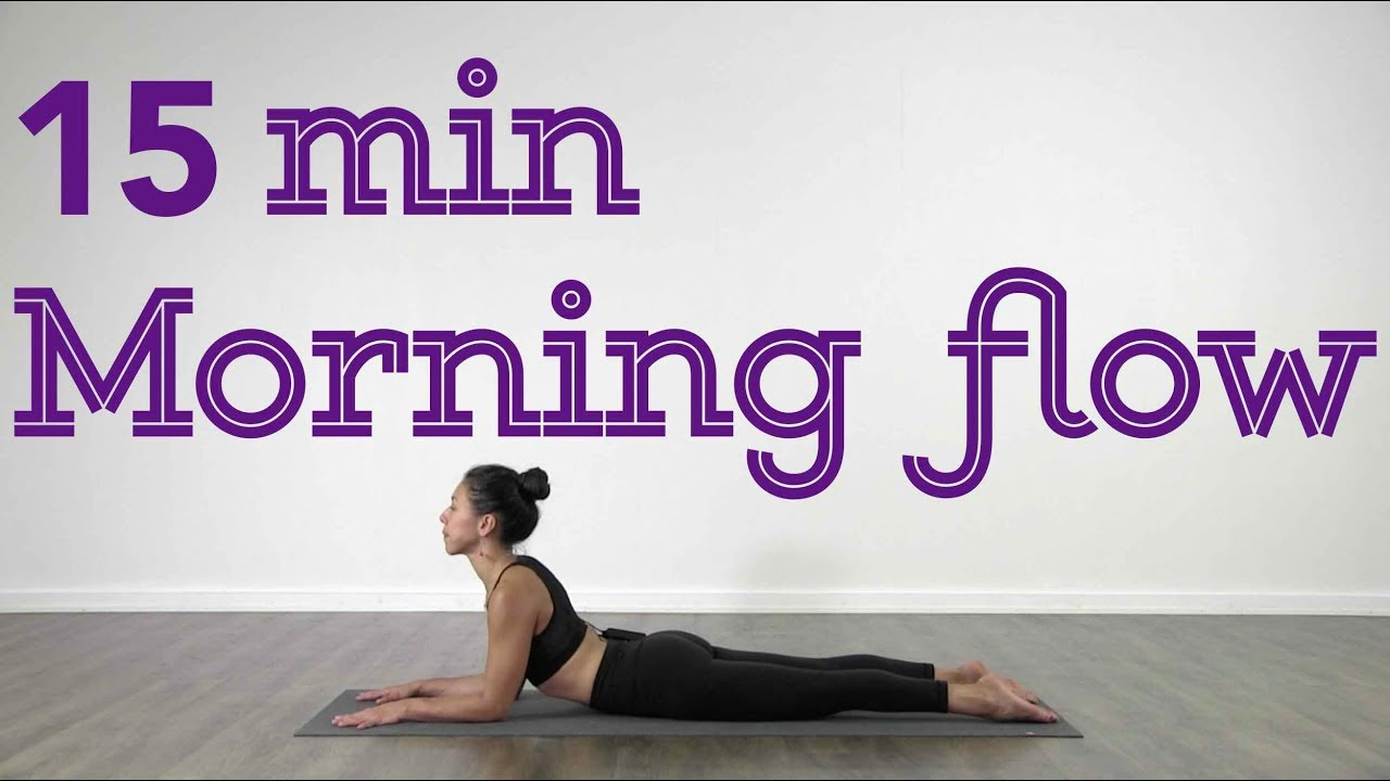 15 Minutes Morning Yoga Flow - Vinyasa Class - YouTube