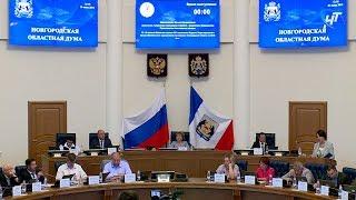 Депутаты областной думы распределили очередную федеральную дотацию и сэкономленные деньги