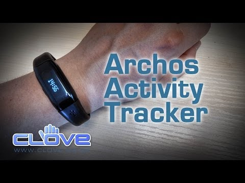 Archos Activity Tracker Unboxing