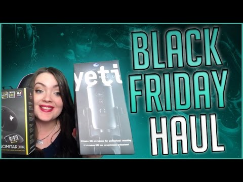 Black Friday Haul Blue Yeti Mic, Corsair Mouse, & More!