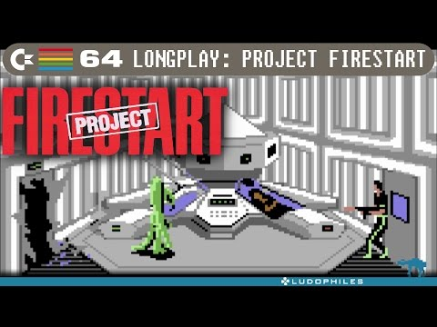 Project Firestart - C64 Longplay / Full Playthrough / walkthrough (no commentary)