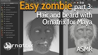 Modelling Mr  Incredible - Part 10: Hair with Ornatrix for