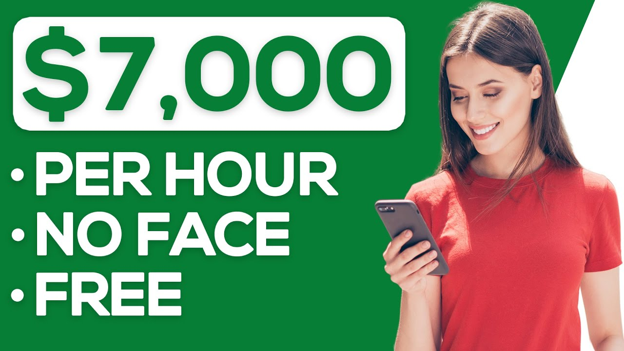 Easy $7,000/Hour On YouTube Without Showing Your Face (Make Money Online)