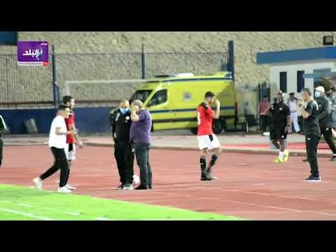 ماذا فعل شوقى غريب مع مصطفى محمد لحظة خروجه من مباراة المنتخب الأولمبي