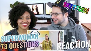 73 Questions With Lilly Singh | Vogue | REACTION