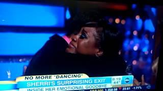 Sherri Shepard Dancing With the stars castoff on Good Morning America