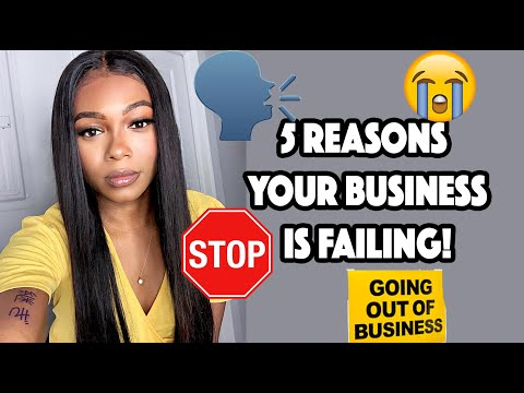 , title : 'The Top 5 Reasons Your Business is Failing and How To Fix It