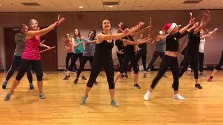 """JINGLE BELLS"" Basshunter - Dance Fitness Workout Valeo Club Rockettes"