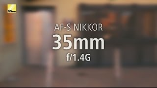 Nikon AF-S 35mm f1.4G N GARANSI RESMI