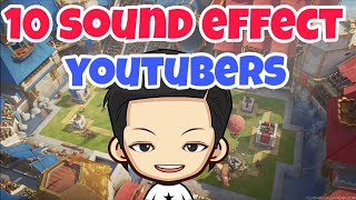 10 Sound Effect YOUTUBERS Dan LINK DWONLOAD..