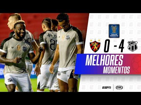 GOLEADA HISTÓRICA! Melhores momentos de Sport 0 x 4 Ceará pela Copa do Nordeste