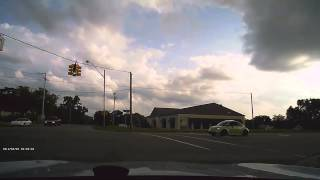 Driving in Flint, Michigan