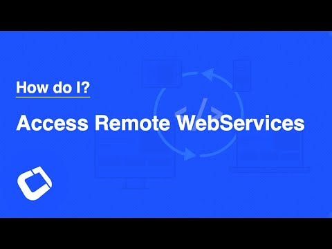 Access Remote Webservices? Perform Operations On The Server?