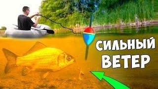 Какой ветер благоприятный для рыбалки