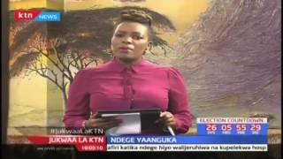 Wanahabari watatu wajeruhiwa baada ya ndege kuanguka