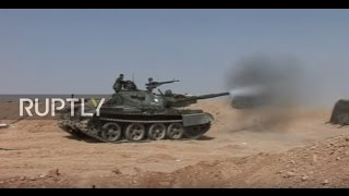 Syria: Syrian Army continues push against IS forces near Palmyra