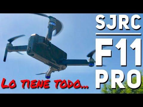 SJRC F11 PRO: plegable, gps, cámara 2K,... y buen precio ¿Quién da más?