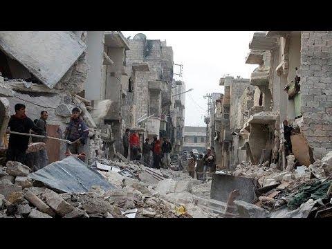 Алеппо: 3-й день авиаударов, 13 погибших
