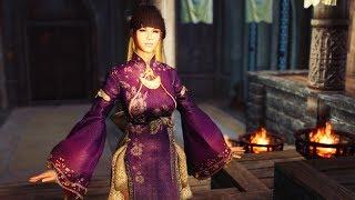 Outfit Binari from BDO HDT PE Skyrim LE for CBBE body
