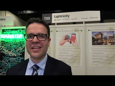 Ambient light energy harvesting watch from Lightricity
