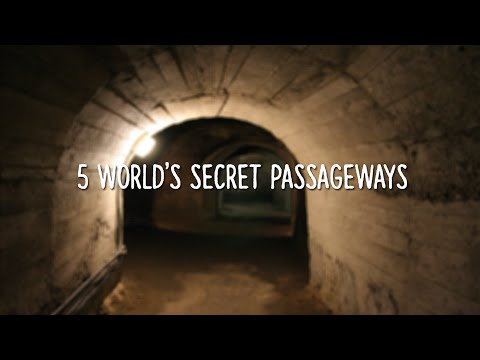 5 World's Secret Passageways