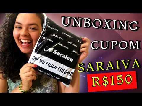 Unboxing de Livros da SARAIVA - Cupom 150 REAIS | Vivendo Mil Vidas