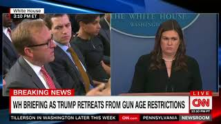 Sanders admits that NRA is fully supportive of Trump