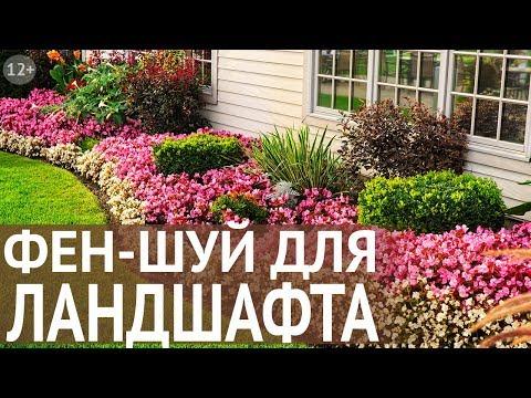 Правильный Фен Шуй для расположение дома и участка. Ландшафтный дизайн по Фен Шуй