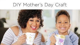 Tia Mowry's Mother's Day Craft | Quick Fix