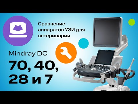 Mindray DC-28, DC-40, DC-70 и Mindray DC-7: Сравнение УЗИ-аппаратов для Ветеринарии  (12+)