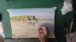 Paint The Beach Mawgan Porth Cornwall