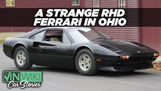 Why is there a Right Hand Drive Ferrari in Ohio?