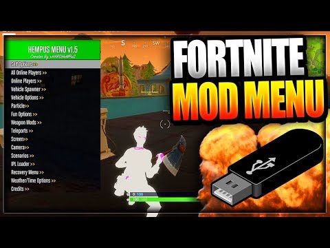 Fortnite: Battle Royale USB Mod Menu On PC Xbox One & PS4 - WORKING Fortnite Mod Menu Trolling/Hacks Mp3