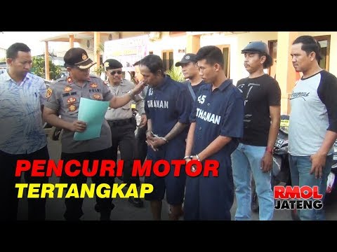 Pencuri di Semarang Hanya Butuh 10 Detik Gasak Motor