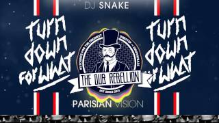 DJ SNAKE ft. Lil Jon - Turn Down For What (Parisian Vision) (Official Audio)