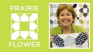 Make An Easy Prairie Flower Quilt With Jenny Doan Of Missouri Star (Video Tutorial)