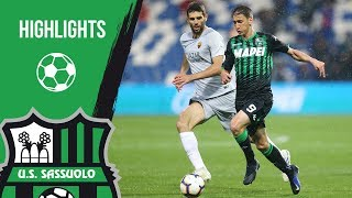 Serie A, highlights Sassuolo-Roma 0-0
