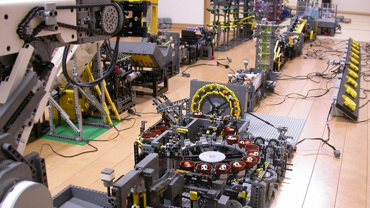 The Most Insane Lego Machine I've Ever Seen