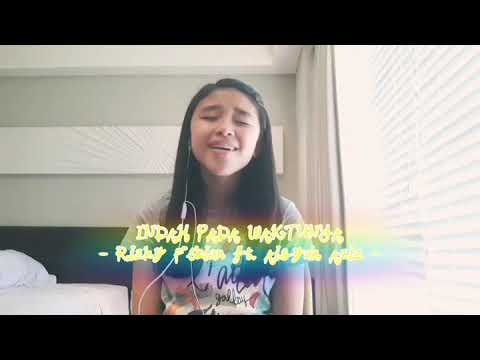 Indah pada waktunya (Rizky Febian ft. Aisyah Aziz) cover by Anneth D. Nasution