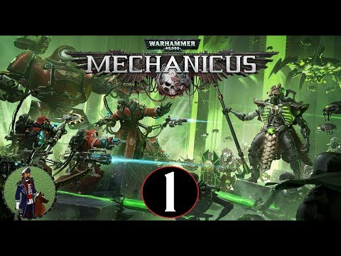 The Awakening | Warhammer 40,000: Mechanicus Campaign Gameplay #1
