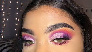 James Charles Makeup Tutorial With His Palette Purple Th Clip