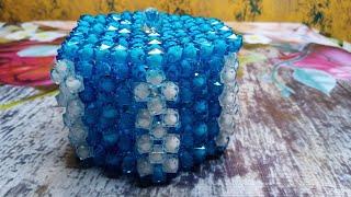 পুতির জুয়েলারি বক্স   Beaded Ornaments Box   Beaded Box   পুতির কাজ