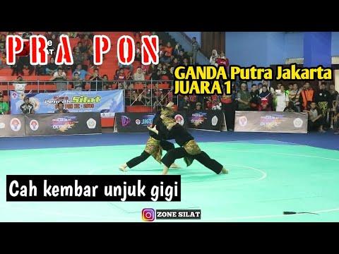 Ganda Putra JAKARTA Juara 1 PRA PON