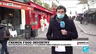 The impact of the pandemic on French food, tourism industries