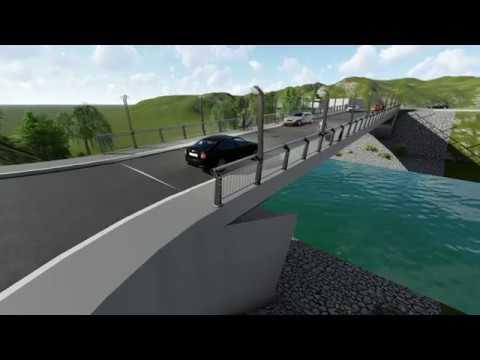 Na jesen počinje izgradnja novog mosta u Toplicama - Predstavljeno idejno rješenje (VIDEO)