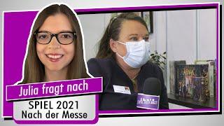 SPIEL 2021 - Nach der Messe - Messeleitung Dominique Metzler im Fazit-Interview - Spiel doch mal!